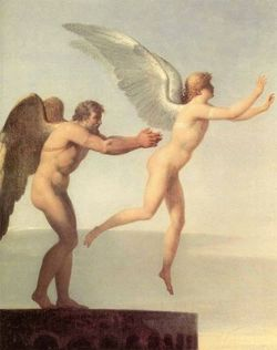 Icarus and Daidalus